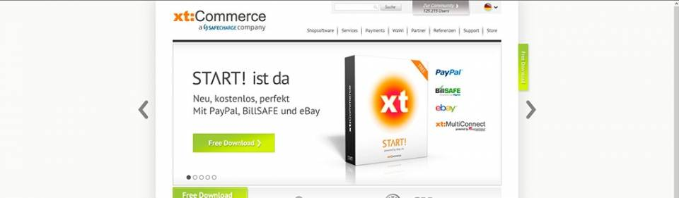 XT:Commerce - Online-Shop-System • Hamburg