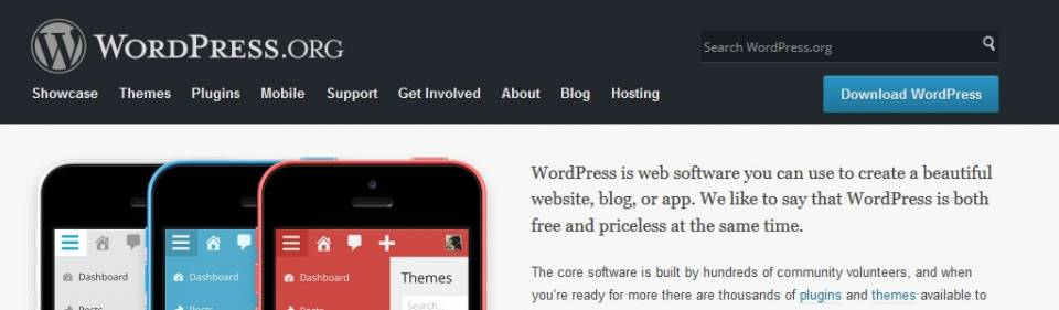 WordPress - Content-Management-System (CMS)
